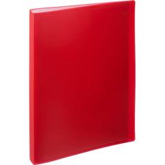 Папка файловая на 40 файлов Attache красная