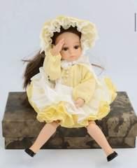 Шарнирное кукольное тело 21 см СВЕТЛОЕ, на куколок формата миниамигас Paola Reina