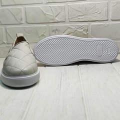 Полуспортивные туфли кеды на высокой подошве женские Alpino 21YA-Y2859 Cream.