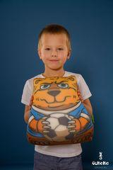 Подушка-игрушка антистресс Gekoko «Медведь-футболист» 1