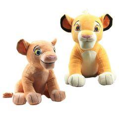 Король Лев мягкие игрушки Симба и Нала