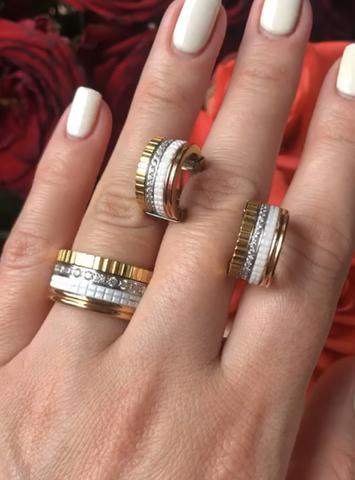 Серьги и кольцо Boucheron