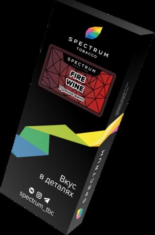Табак Spectrum Hard Line Fire Wine (Пряное Вино) 100г