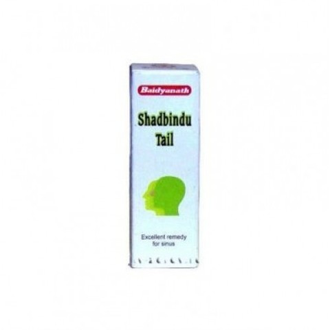 Масло от насморка и гайморита Шадбинду (Shadbindu Taila) Baidyanath, 50 мл