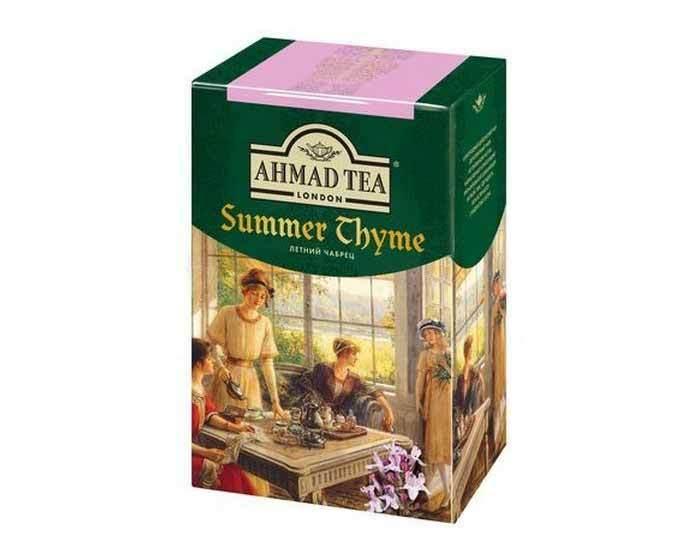 Чай черный листовой Ahmad Tea Summer Thyme с чабрецом, 200 г