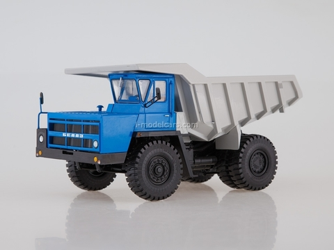 BELAZ-7522 Dumper early blue-gray 1:43 Dealer models BELAZ