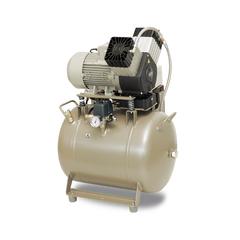 DK50 2V/50 безмасляный компрессор (2 установки) Ekom