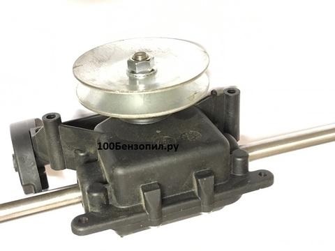 Редуктор привода колес для газонокосилки