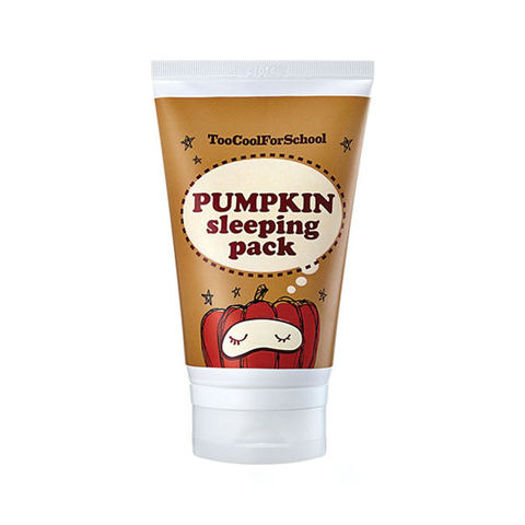 Too Cool For School Pumpkin Sleeping Pack Ночная маска с тыквой большая