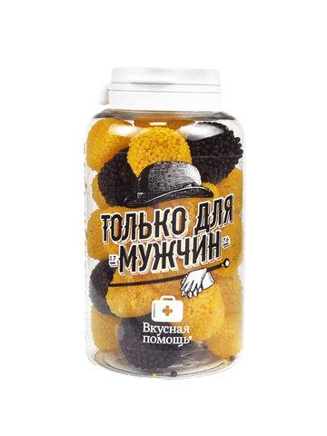 Вкусная помощь Мармелад жевательный Только для  мужчин со вкусом лимона и колы (250 мл)