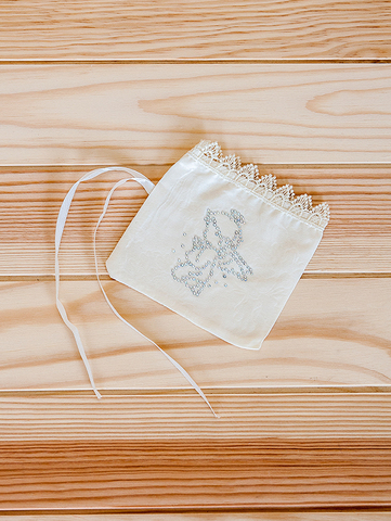 Крестильный мешочек (белый)