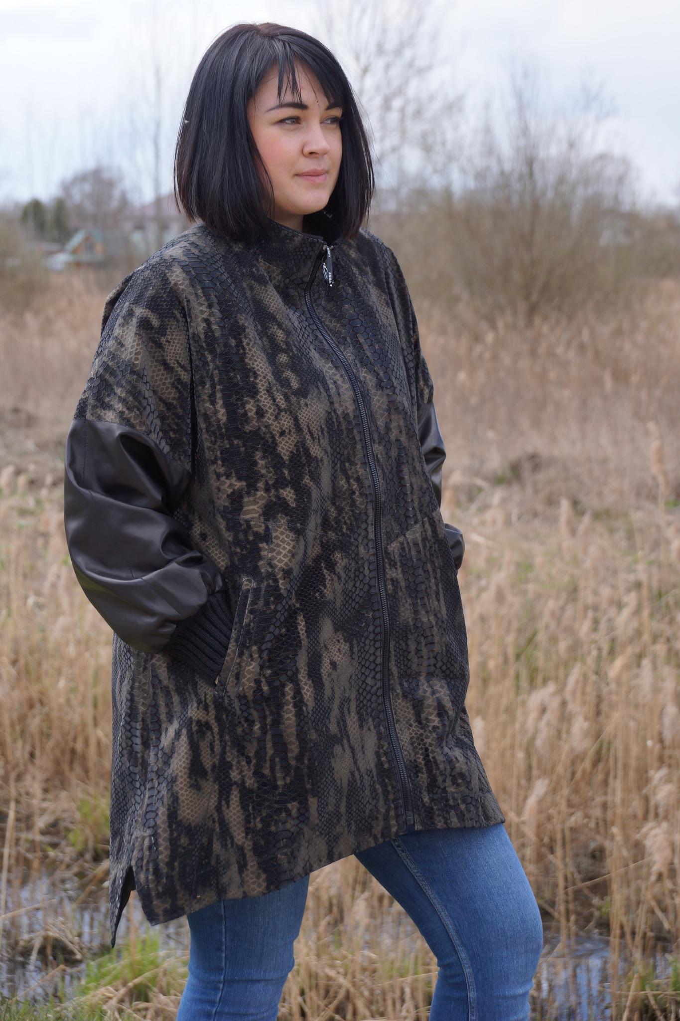 Кожаная куртка Lindi West