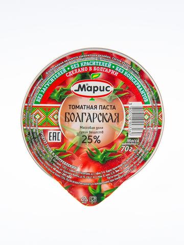 Томатная паста Болгарская 70гр