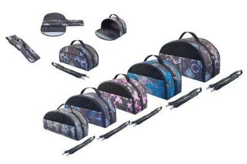 ДАРЭЛЛ сумка переноска Лайт Бокс раскладная с карманом средняя 44*22*25 см (нейлон)