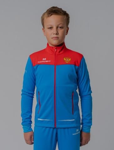 Разминочная куртка Nordski Jr.Pro rus подростковая