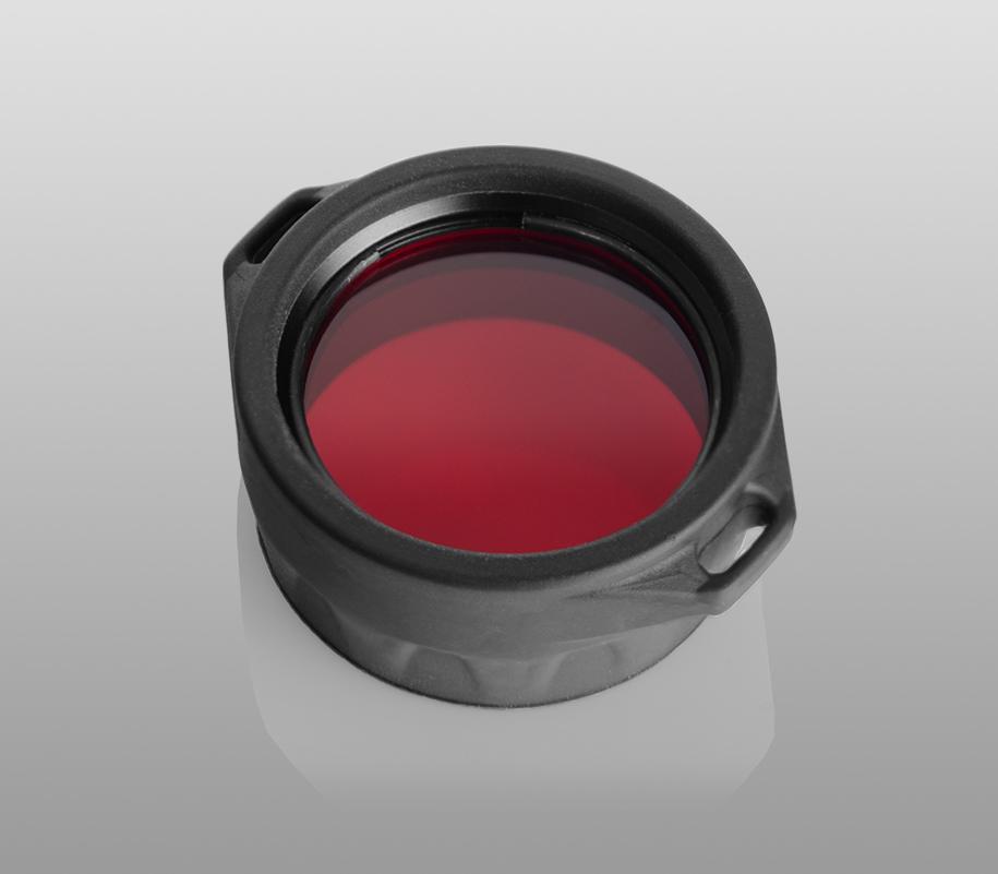 Красный фильтр Armytek для фонарей Predator/Viking - фото 2