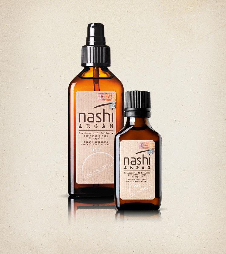 Масло косметическое для всех типов волос Nashi Argan (с диспенсором) 100мл