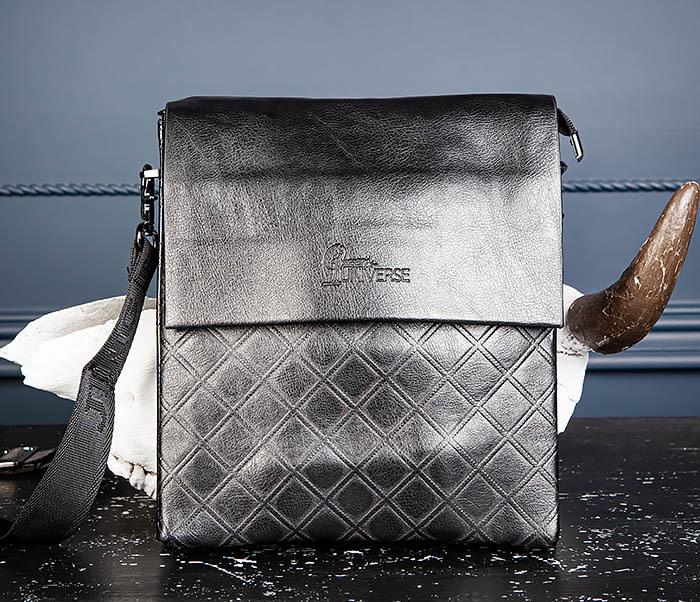 BAG559-1-1 Стильная мужская сумка планшет из кожи фото 03