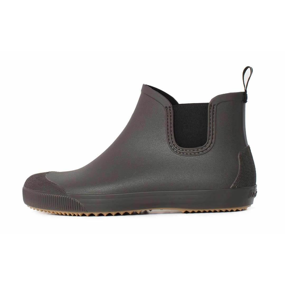 Резиновые ботинки Nordman Beat коричневые с бежевой подошвой