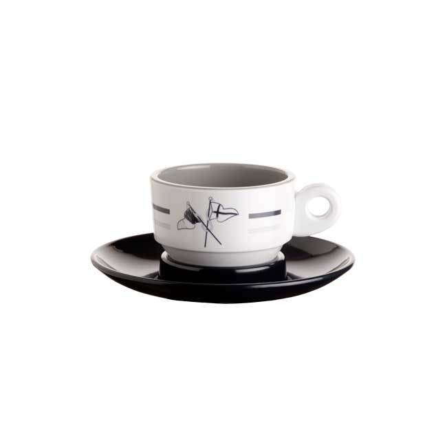 MELAMINE COFFEE SET WELCOME ON BOARD