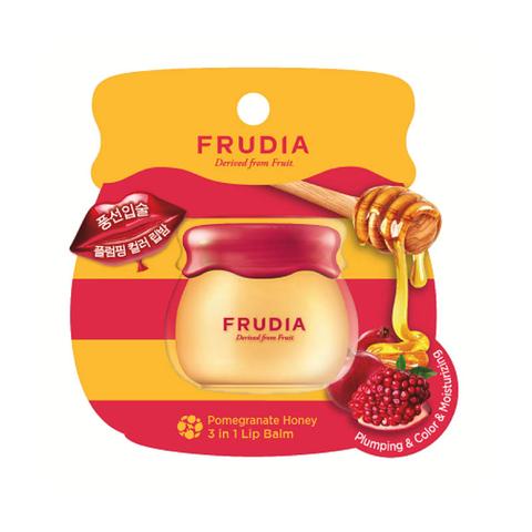 Frudia Бальзам для губ с гранатом 3 в 1/Pomegranate Honey 3 in 1 Lip Balm