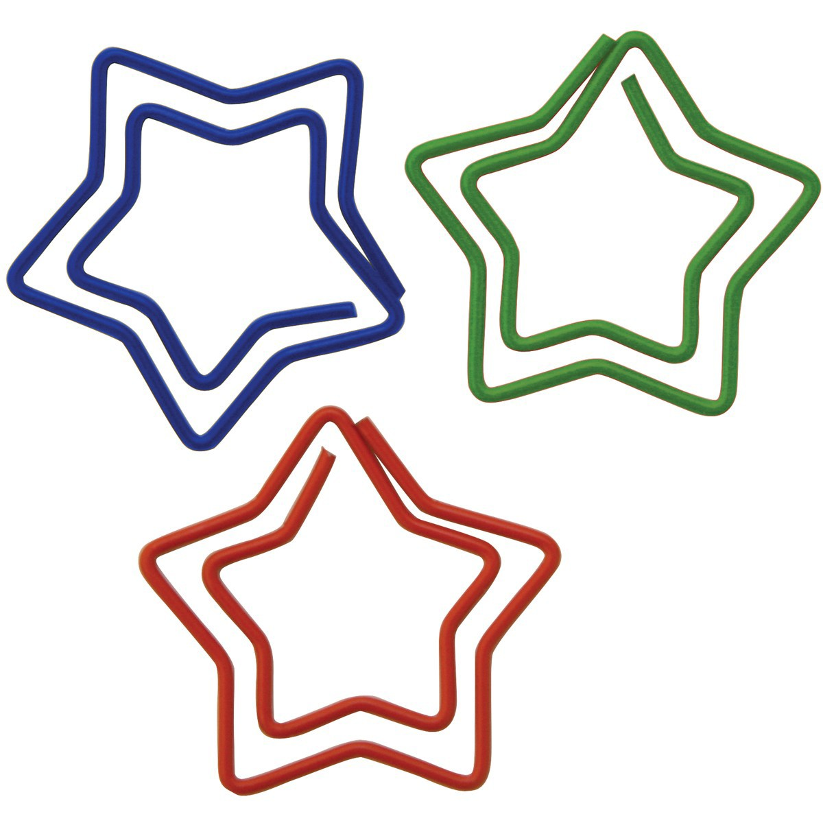 Скрепки Paper clips STARS