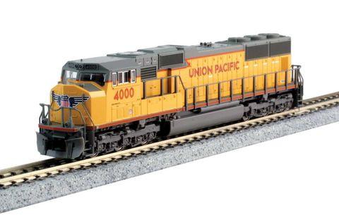 Локомотив Kato EMD SD70M Union Pacific