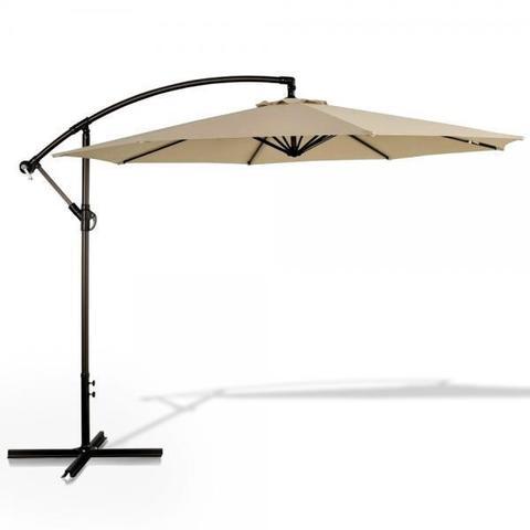 Зонт для кафе AFM-300B-Banan-Beige МРК