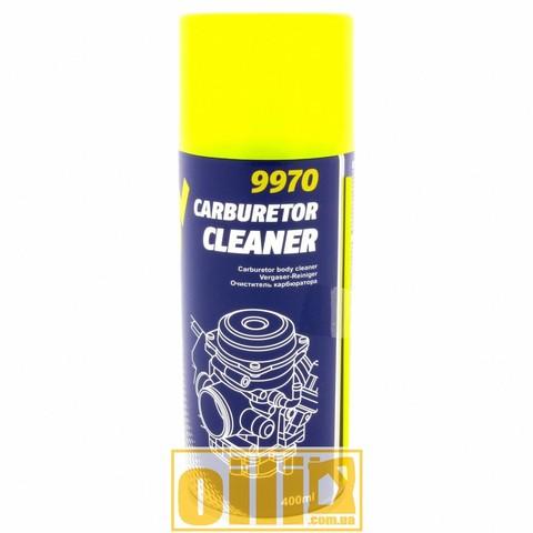 Mannol 9970 CARBURETOR CLEANER 400мл - Очисник карбюратора аерозольний (аналог ABRO)
