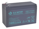 Аккумулятор для ИБП B.B.Bаttery HRC1234W  (12V 9Ah / 12В 9Ач) - фотография