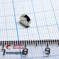Неодимовый магнит диск 6х2 мм