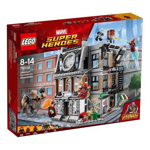 LEGO Super Heroes: Решающий бой в Санктум Санкторум 76108 — The Sanctum Sanctorum Showdown — Лего Супергерои