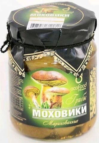 Грибы моховики маринованные Ecofood, 520г