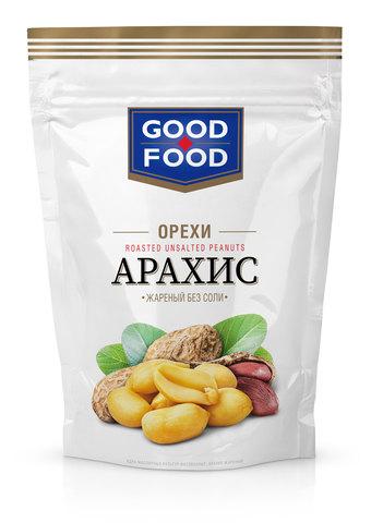 GOOD FOOD Арахис жареный без соли 150 г