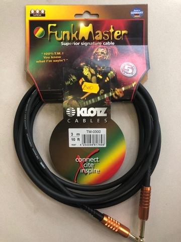 KLOTZ TM-0300 -   Инструментальный кабель T.M. Stevens Funkmaster