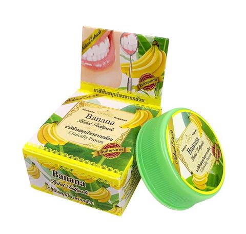 Зубная паста с Бананом Роджана Rochjana Herbal Banana 30 гр.