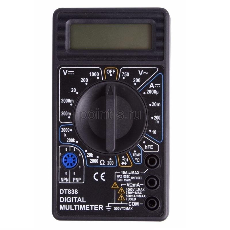 Портативный мультиметр Proconnect М838 (DT838)