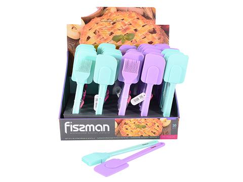 7050 FISSMAN Кисточка и лопатка кулинарная 25 см,  купить