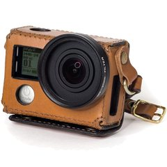 Кожаный чехол Leather Case New Woodman