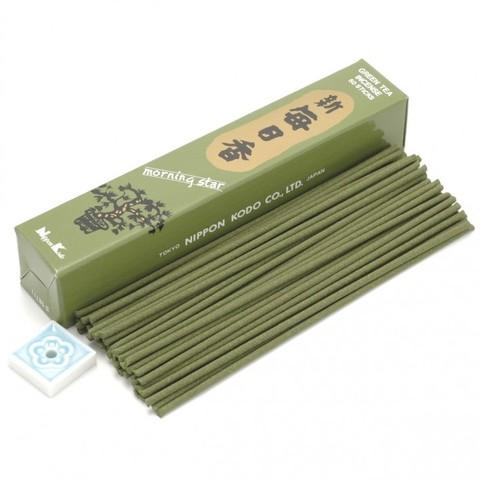 Японские благовония Morning Star Green Tea 50 шт