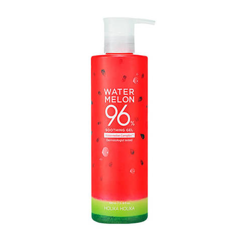 HOLIKA HOLIKA WATERMELON 96% SOOTHING GEL АРБУЗ универсальный гель для лица и тела, 390 мл
