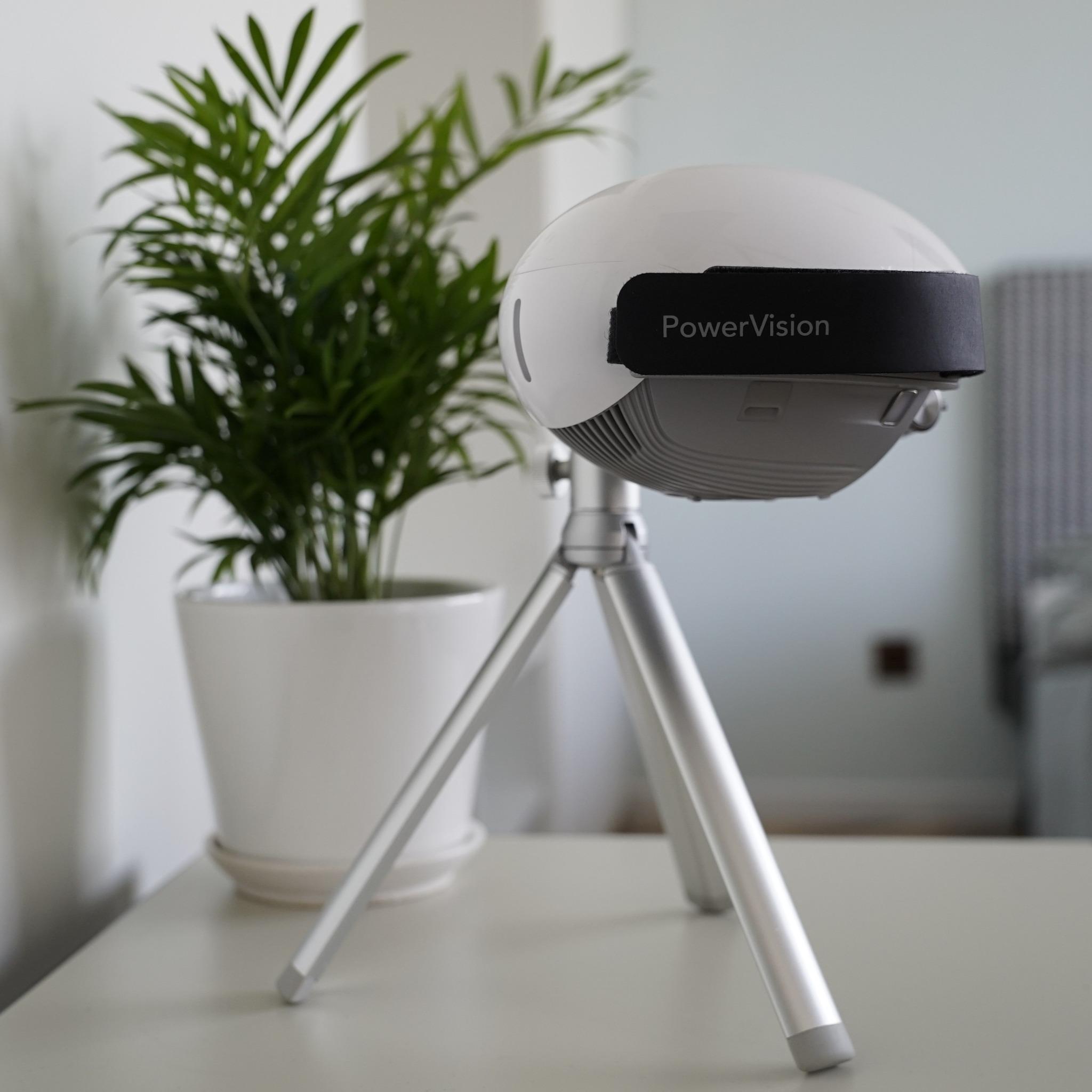 Autonomous Personal AI Camera Power Egg X