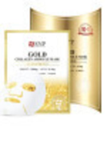 SNP Тканевая маска для лица SNP Gold collagen ampoule mask