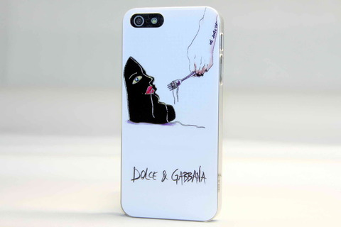 Чехол Fashion brands для iPhone 5, 5s, SE (Dolce & Gabbana)