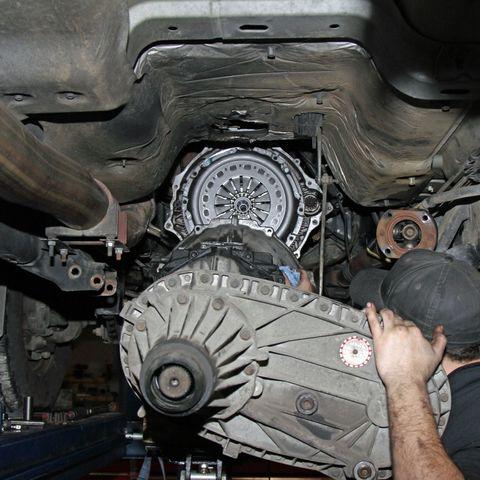 Замена коробки передач: замена акпп и мкпп - снятие установка