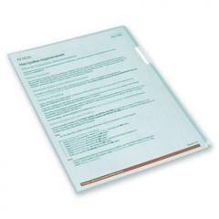 Папка-уголок Attache A4 зеленая 150 мкм (10 штук в упаковке)