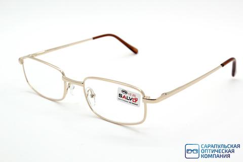 Очки готовые для зрения лектор в широком металлическом футляре SALVO KZRS50027 (