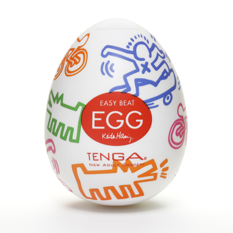 Tenga - Keith Haring Egg Street
