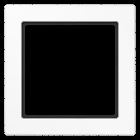 Рамка на 1 пост. Цвет Белый. JUNG FD - ДИЗАЙН. FD981WW