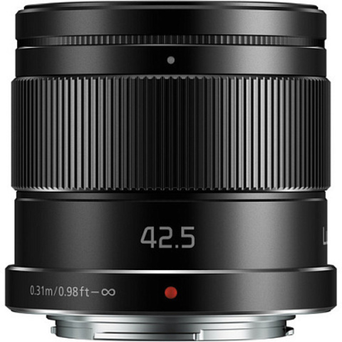 Panasonic Lumix G 42.5mm f/1.7 G Aspherical Power O.I.S. (H-HS043E-K)